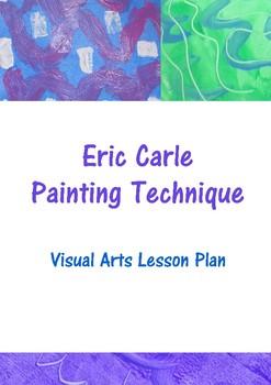 Eric Carle Painting Technique