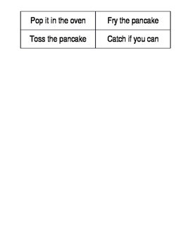 Eric Carle: Pancakes, Pancakes Sequencing (FREE) (Editable)