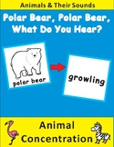 Eric Carle Polar Bear, What Do You Hear--Animal Concentration Cards