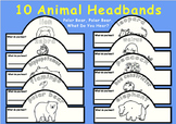 Eric Carle Polar Bear, What Do You Hear?--Animal Headbands