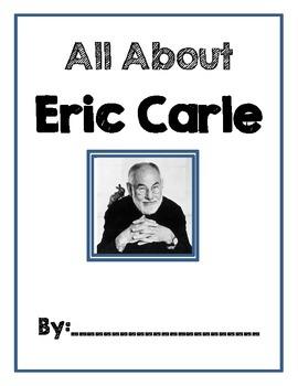 Eric Carle Portfolio Cover