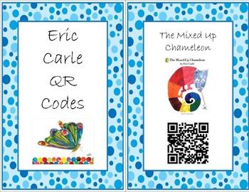 Eric Carle Read Aloud QR Codes