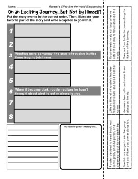 Eric Carle - Rooster's Off to See the World (Retelling / Sequencing)