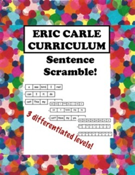 Eric Carle Sentence Scramble