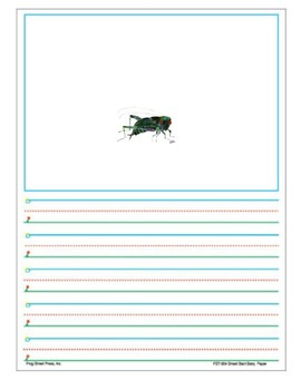 Eric Carle Story Book Character Writing Prompt