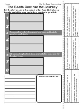 Eric Carle - The Tiny Seed (Retelling / Sequencing)