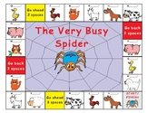 Eric Carle The Very Busy Spider-Game Board