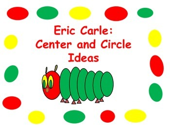 Eric Carle: The Very Hungry Caterpillar