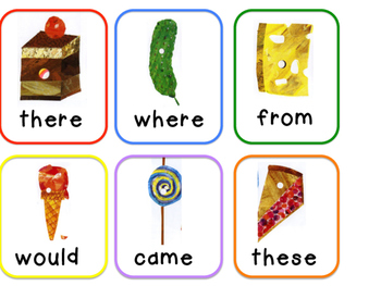 Eric Carle Themed Write the Room