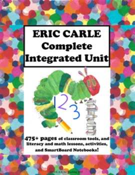 Eric Carle Author Study Unit:  Integrated, Differentiated,  CCSS Aligned