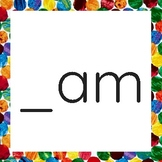 Eric Carle Word Family Cards