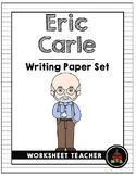 Eric Carle Writing Paper Set