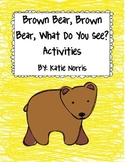 Eric Carle's Brown Bear, Brown Bear, What Do You See? Book Activities