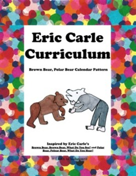 Eric Carle Brown Bear Polar Bear Math Calendar Pattern