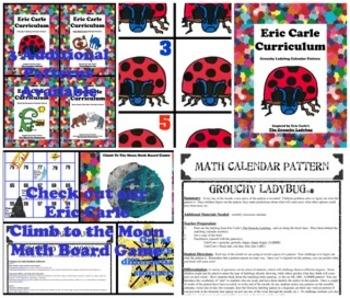 Eric Carle Grouchy Ladybug Math Calendar Pattern