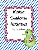 Eric Carle's Mister Seahorse Book Activities
