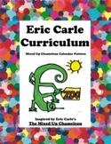 Eric Carle Mixed Up Chameleon Math Calendar Pattern