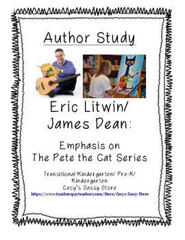 Eric Litwin and James Dean Author Study