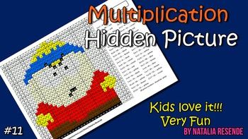 Eric - Multiplication Mystery Picture - Fun Math