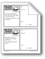 Eric's Hens (Grade 2 Daily Word Problems-Week 35)