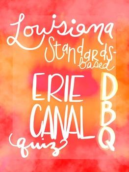 Louisiana Standards-Based Erie Canal DBQ
