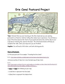 Erie Canal Project