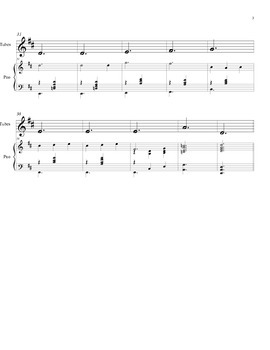 Boomwhackers and piano accompaniment.Erik Satie - Gymnopédie No.1