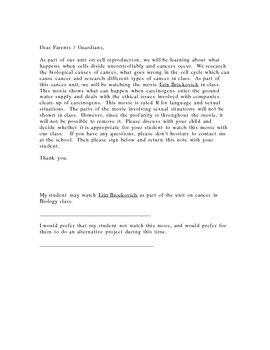 Erin Brockovich Permission Slip