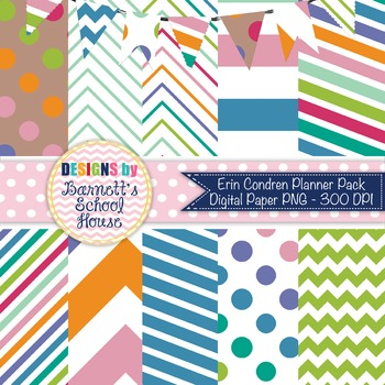 Digital Paper Pack Taffy {Commercial Use}