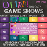 Frankel's WEIRD Trilogy Bundle: Empathy & Bullying School Counseling Lessons