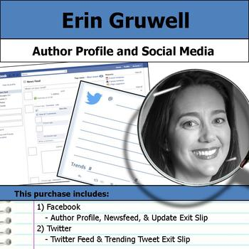 Erin Gruwell - Author Study - Profile and Social Media
