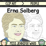 Erna Solberg Clip Art