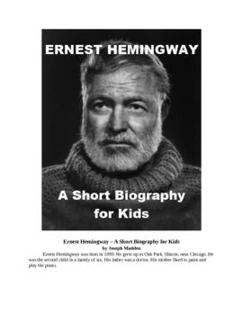 Ernest Hemingway - A Short Biography