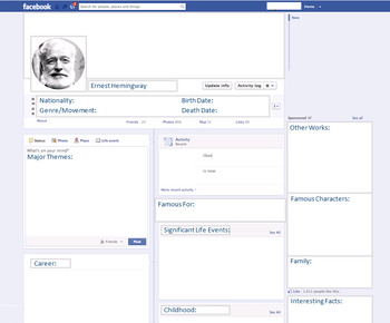 Ernest Hemingway - Author Study - Profile and Social Media