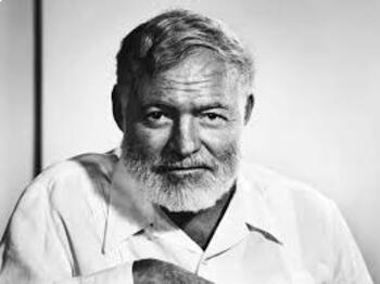 Ernest Hemingway Background PPT with Assessment