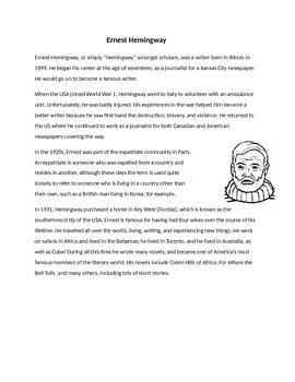 Ernest Hemingway Biography