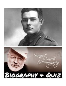 ernest hemingway brief biography