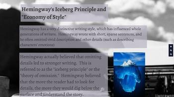 Ernest Hemingway--Biography and Writing Style Prezi
