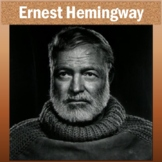 Ernest Hemingway Introduction on PowerPoint with Student Outline