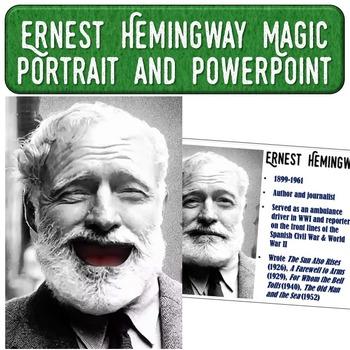 Ernest Hemingway Magic Portrait Video & PowerPoint for Aut