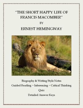 the short happy life of francis macomber summary