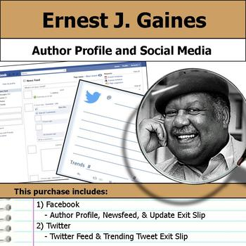 Ernest J. Gaines - Author Study - Profile and Social Media