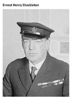 Ernest Shackleton Handout