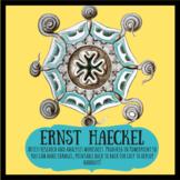 Ernst Haeckel artist research and analysis worksheet