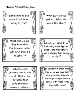 It's Greek to Me! - Eros & Psyche - Myths for Elementary Students