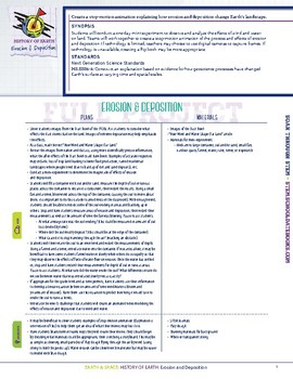 Erosion & Deposition - STEM Lesson Plan