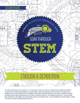 Erosion Deposition - STEM Lesson Plan With Journal page