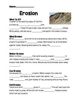 Erosion, Fossils, Rocks, Soil on Pebble Go