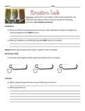 Erosion Lab Recording Sheet 3 Types of Soils in Bottles