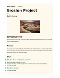 Erosion Project Essay